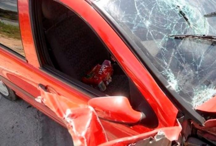 BR 230: Radialista de Cajazeiras se envolve em acidente; Carro capotou quatro vezes