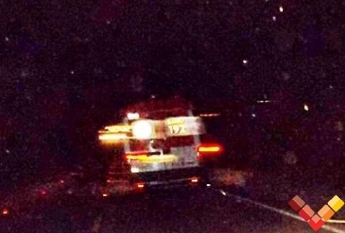 Acidente em rodovia de CZ deixa homem gravemente ferido; Ele foi para o Trauma