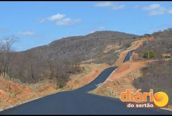 Superintendente do DER anuncia conclusão de duas estradas na região de Cajazeiras