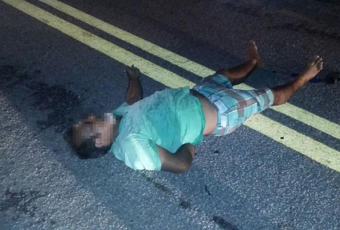 Irmão de prefeita do Sertão morre após colidir motocicleta com animal na rodovia. Veja fotos!