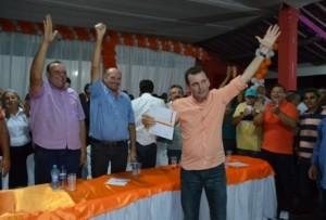 Pré-candidato a prefeito de São José de Piranhas, Chico Mendes se filia ao PTB