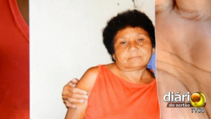 Dona Geralda estava na porta de casa quando foi atingida e morreu no hospital