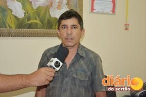 Wellington Dias, presidente do SINTRACS-CR
