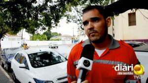 Agente de trânsito Marlon Ehrich