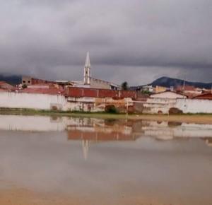 Campo de futebol em São José de Piranhas