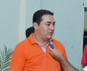 Alan Seixas, vice-prefeito de Cachoeira dos Índios