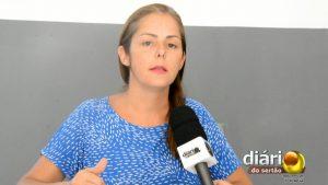 Isabela Cartaxo, coordenadora do Núcleo de Zoonoses de Município de Cajazeiras
