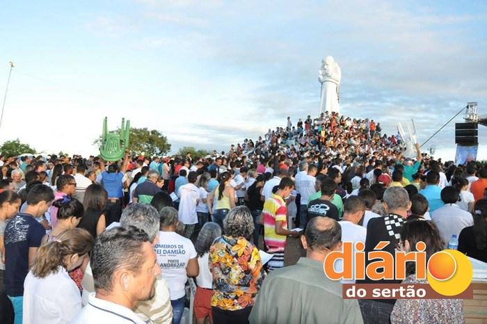 Caminhada da misericórdia em Sousa (Foto: DS / Paróquia São João Batista)