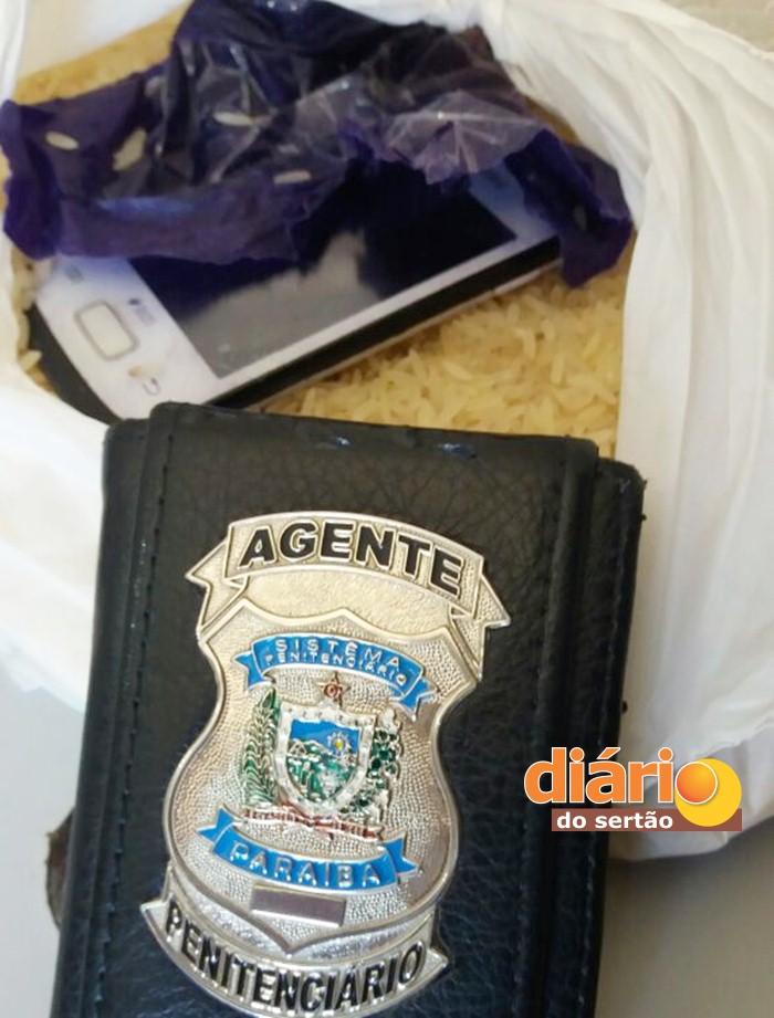 Material apreendido no Presídio de Segurança Máxima de Cajazeiras (foto: ascom)