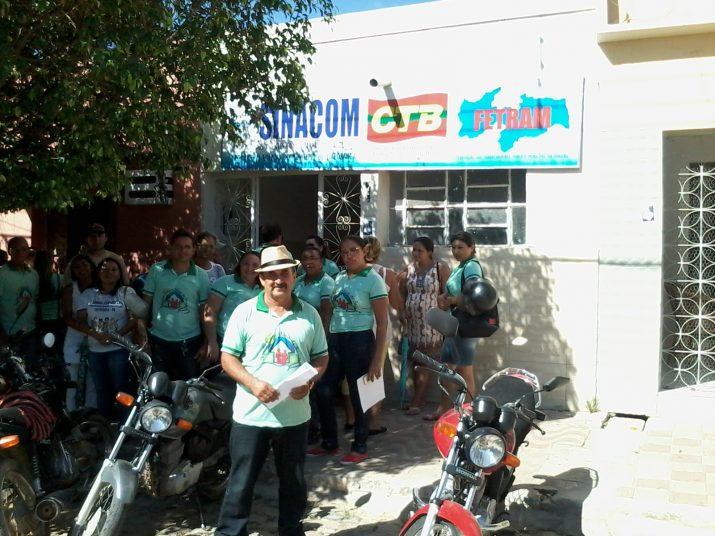 Mobilização em Itaporanga contra portaria ministerial dos ACS