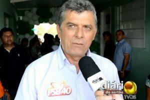 Chico Pereira, pré-candidato a prefeito de Bonito de Santa Fé