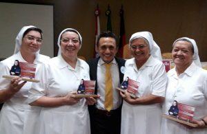Vereador Jucinério e as irmãs da Sagrada Face