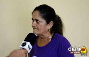 Elinete Lourenço, presidente do SINFUMC