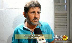 Fábio Guerra denunciou a prefeitura