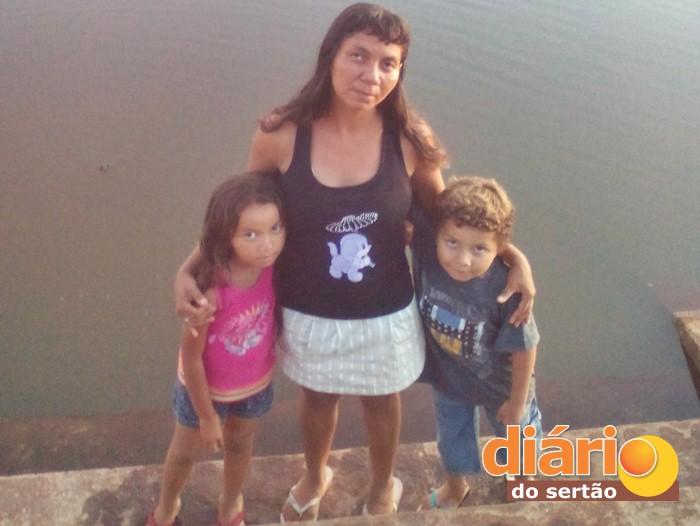 Lucineide Matias ficou ferida em acidente e hoje vive acamada