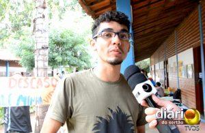 Will Lima, aluno de Geografia