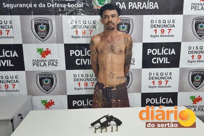 Acusado foi preso pelo GTE (foto: João Fábio)