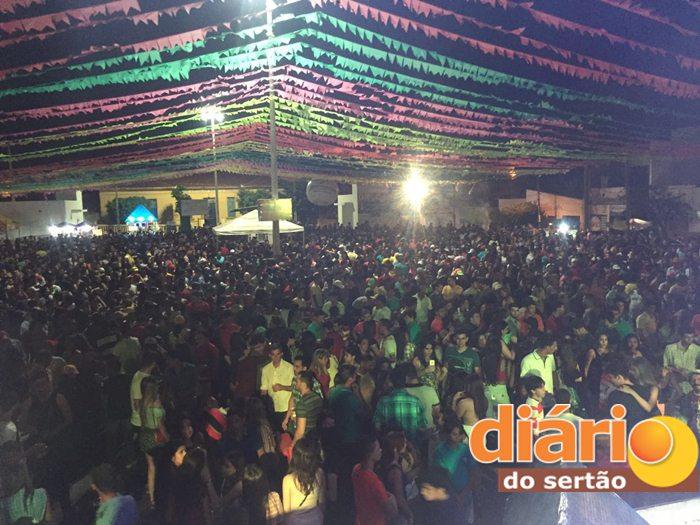 Último dia de festas na Praça do Xamegão (Foto: Reprodução)