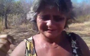 Mãe faz apelo dramático para internar filha em Cajazeiras