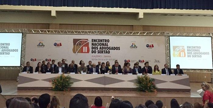 II Encontro Nacional dos Advogados do Sertão