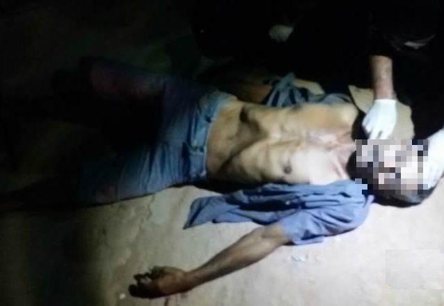 Vítima morreu no local (Foto: Radar Sertanejo)