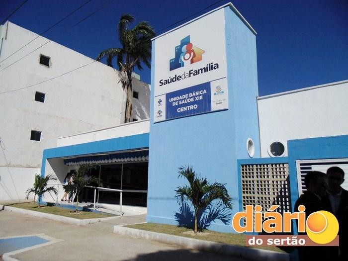 Posto de Saúde fica localizado no centro da cidade (foto: Charley Garrido)