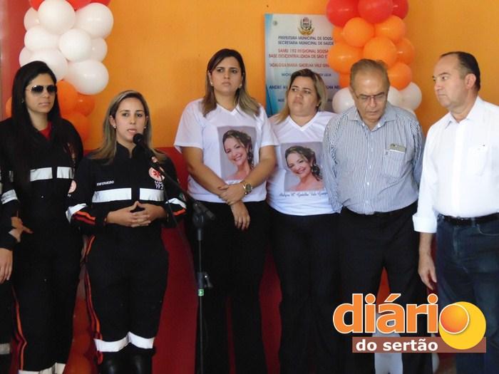 Inauguração de base do SAMU em São Gonçalo (foto: DS)