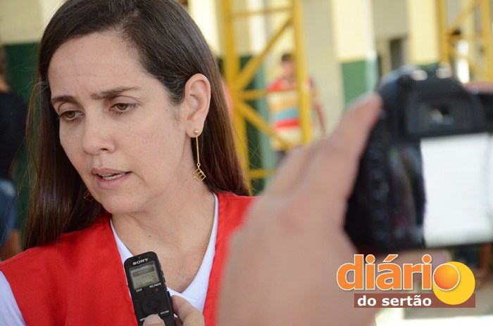 Roberta Abath, secretária de saúde da Paraíba (foto: Charley Garrido)