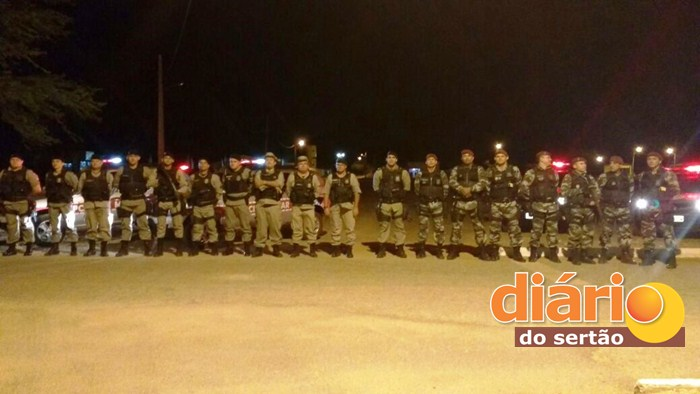 Operação Impacto é desencadeada pela Polícia Militar em Sousa e Pombal (Foto: DS)