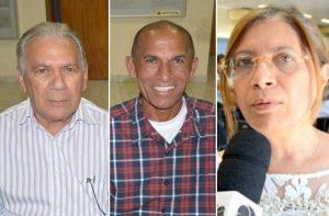 José Aldemir, Antônio Gobira e Denise