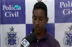 Danilo Batista Freitas, de 19 anos, teria aproveitado que a mãe da criança saiu para trabalhar Reprodução/Record Bahia