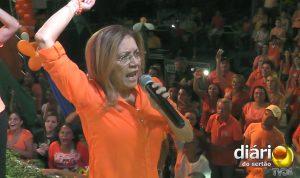Prefeita Denise na convenção do PSB em Cajazeiras