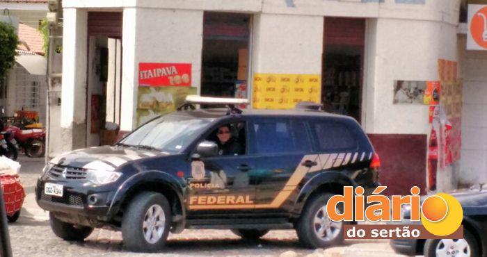 Polícia Federal na cidade de Marizópolis (foto: whatsapp)