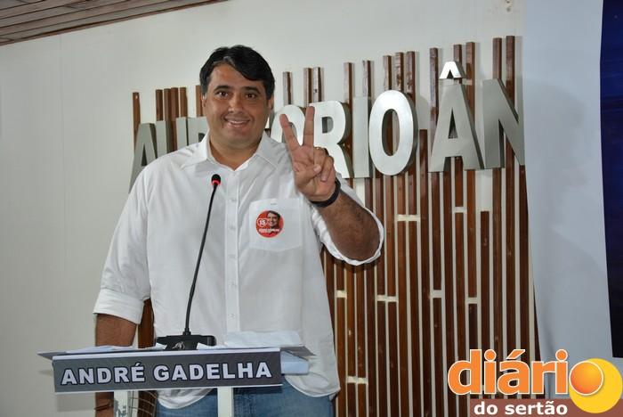 André Gadelha, candidato a prefeito de Sousa (foto: Diário do Sertão)