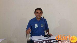 Candidato professor Clóvis (Foto DS)