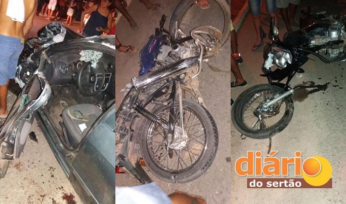 Grave acidente registrado em Triunfo (foto: Wilisses Estrela)