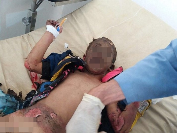 Guerra civil na Síria (Foto: Reprodução/ Daily Mail)