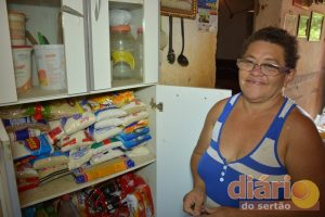 Dona Francisca agora tem motivo para sorrir