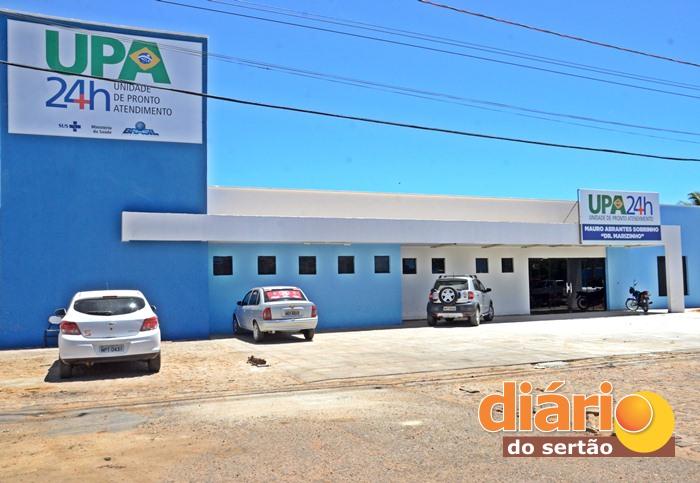 UPA de Sousa irá atender 250 pacientes por dia (foto: Charley Garrido)