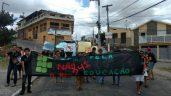 Manifestantes protestam em várias cidades da Paraíba. (Fonte: Whatsapp)