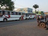 Reintegração de posse em fazenda foi em Ji-Paraná (Foto: Marco Bernardi/ G1)