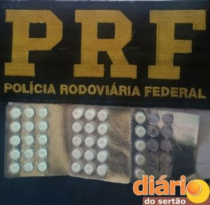 Material apreendido pela PRF em Cajazeiras