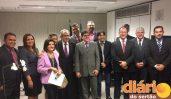 Gervázio Gomes comemorou sua primeira viagem a Brasília após sua reeleição