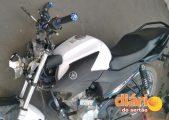 Moto atropelou menino de oito anos (foto: WhatsApp)