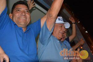 Vice-prefeito e prefeito eleitos de Cajazeiras