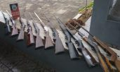 Fábrica clandestina de armas de fogo