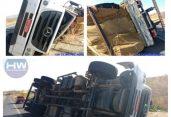 Acidente ocorreu nesse domingo, na cidade de Pombal