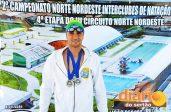 Sousense Emanoel Garrido conquistou medalhas na competição realizada em JP (foto: assessoria)