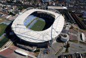 Estádio Nilton Santos, que já ficou sem água em 2014, está sem luz pelo segundo ano seguido (Foto: André Durão)