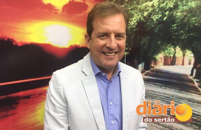 Fábio Tytone, foi entrevistado na TV Diário do Sertão (foto: DS)